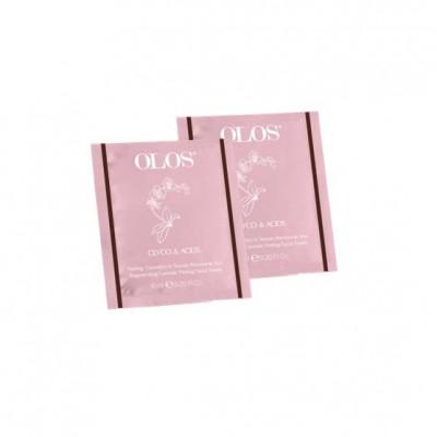 Olos Glyco&acids Kosmetisches Peeling Im Gesichtserneuerungsgewebe
