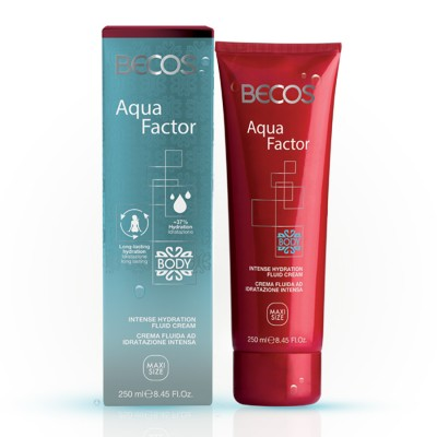Aqua Factor Intensive Moisturizing Fluid Body Cream