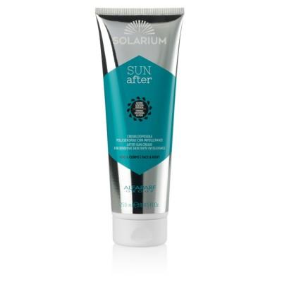 Solarium Sun After After-sun Cream Empfindliche Haut Mit Unverträglichkeiten