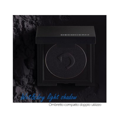 Decoderm Wet & Dry Light Shadow Col.01 Intense Black