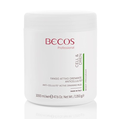 Cell & Dren Active Draining Anti-cellulite-schlamm Ml 1000