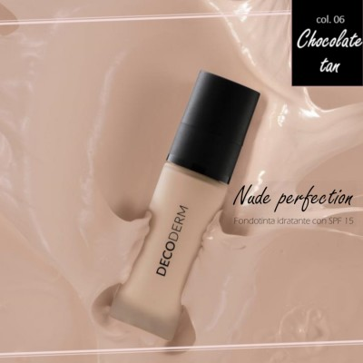 Decoderm Nude Perfection Befeuchtendes Fundament Spf15 Col.06