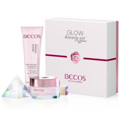 White Prisma Glow Beauty Set Gesichtsbeleuchtung