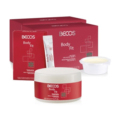 Body Fit Professional- Maske (10) Cellulite & Serum (10) + Toningcreme 400ml