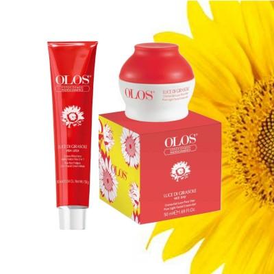 Luce Di Girasole- Rudermaske + Creme-gel Zur Beleuchtung Des Entfettenden Gesichts